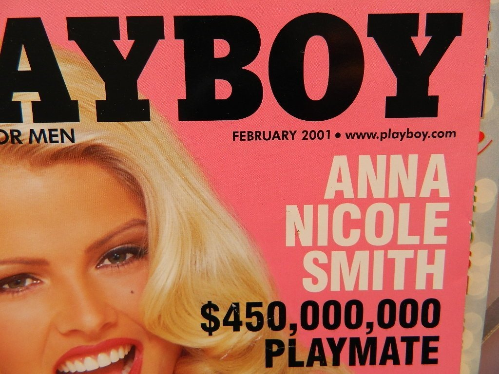 2001 Playboy Magazines January thru December