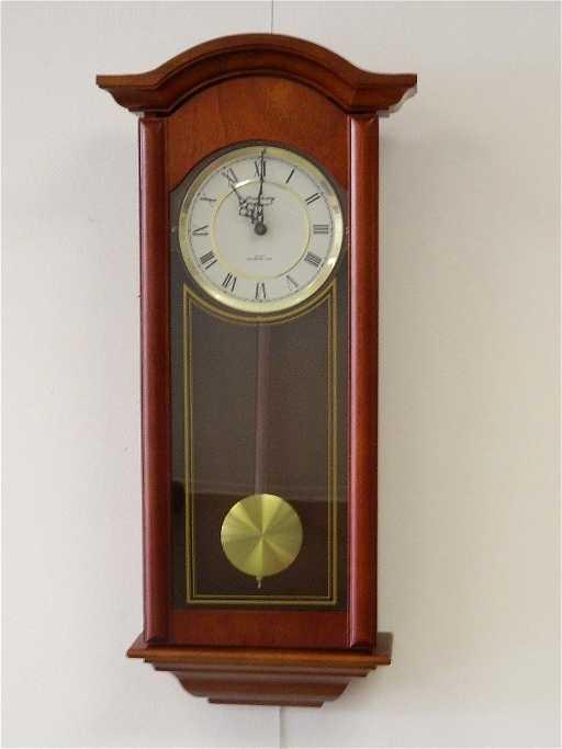 a5b6f124e2f Strausbourg Manor Quartz Westminster Wall Clock