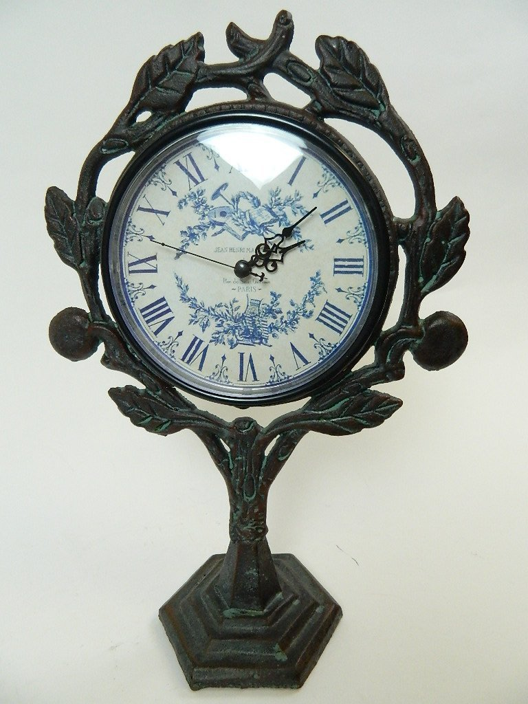 Wrought Iron Style Jean Henri Marchand Clock