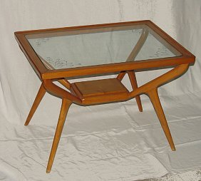 Coffee Table Italian Manufacture, 1950 Ca.