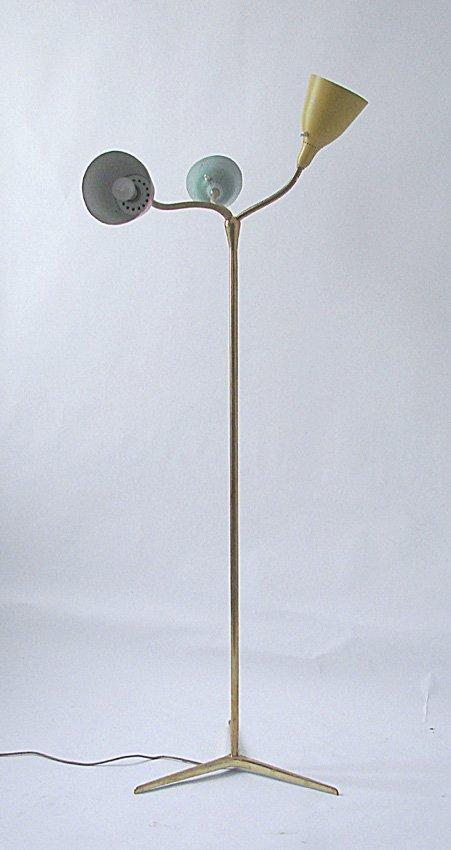 Floor lamp Giuseppe Ostuni, Prod. O-Luce, 1950 ca.