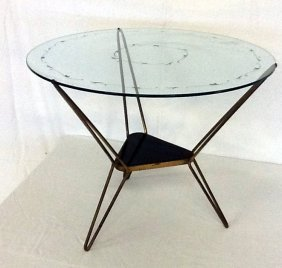 Brass table Italian Manufacture, 1950 ca.