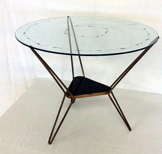 Brass table Italian Manufacture, 1950 ca.