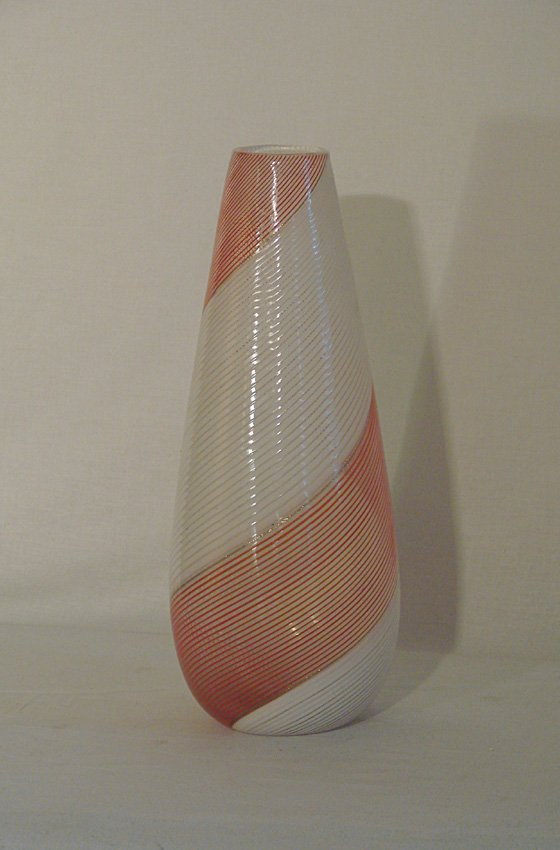 Glass vase Dino Martens,  Aureliano Toso, 1954