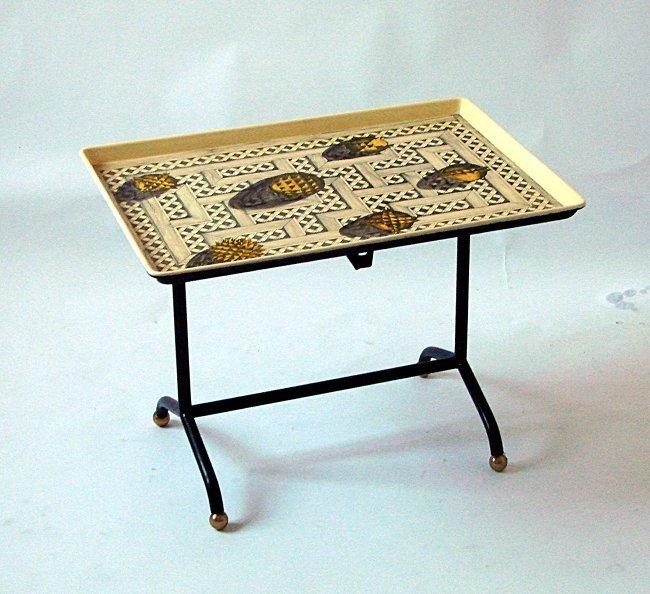Table Piero Fornasetti, Laboratorio Fornasetti, 1955