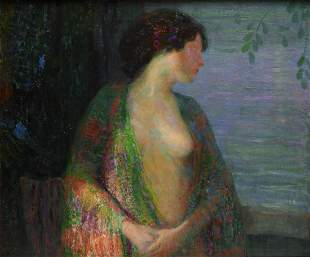 HOVSEP PUSHMAN, (Armenian/American, 1877-1966), Woman