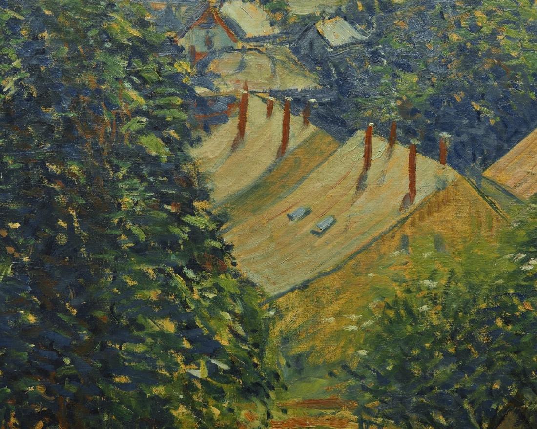 ARTHUR CLIFTON GOODWIN, (American, 1864-1929), Village - 3