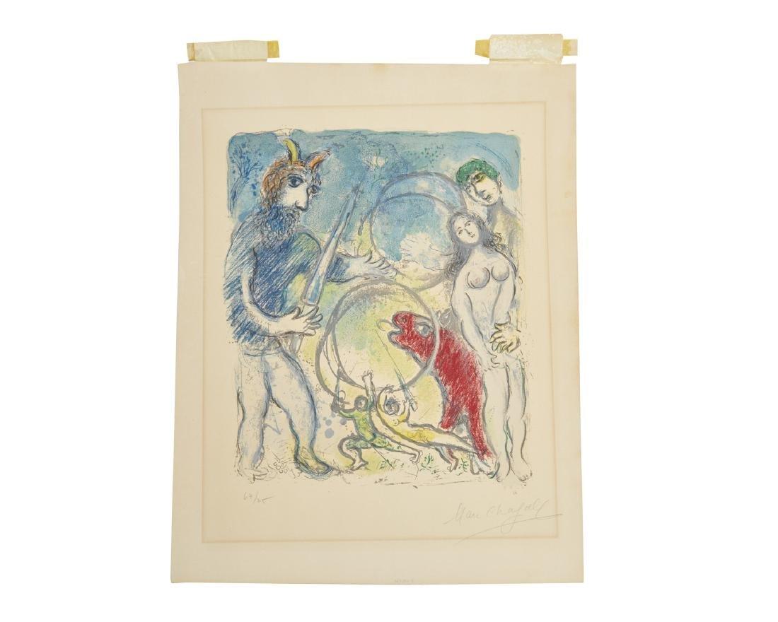 MARC CHAGALL, (French, 1887-1985), A la femme, - 2