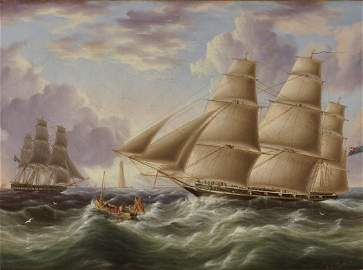 JAMES EDWARD BUTTERSWORTH, (British/American,