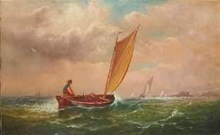 CHARLES HENRY GIFFORD, (American, 1839-1904), Heading
