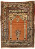 Tabriz Prayer Rug Persia ca 1900 6 ft x 4 ft 5