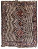 Afshar Rug South Persia ca 1910 6 ft x 4 ft 9 in