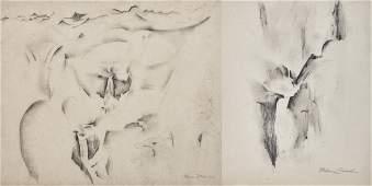 WILLIAM ZORACH, (American, 1887-1966), Valley of Bright