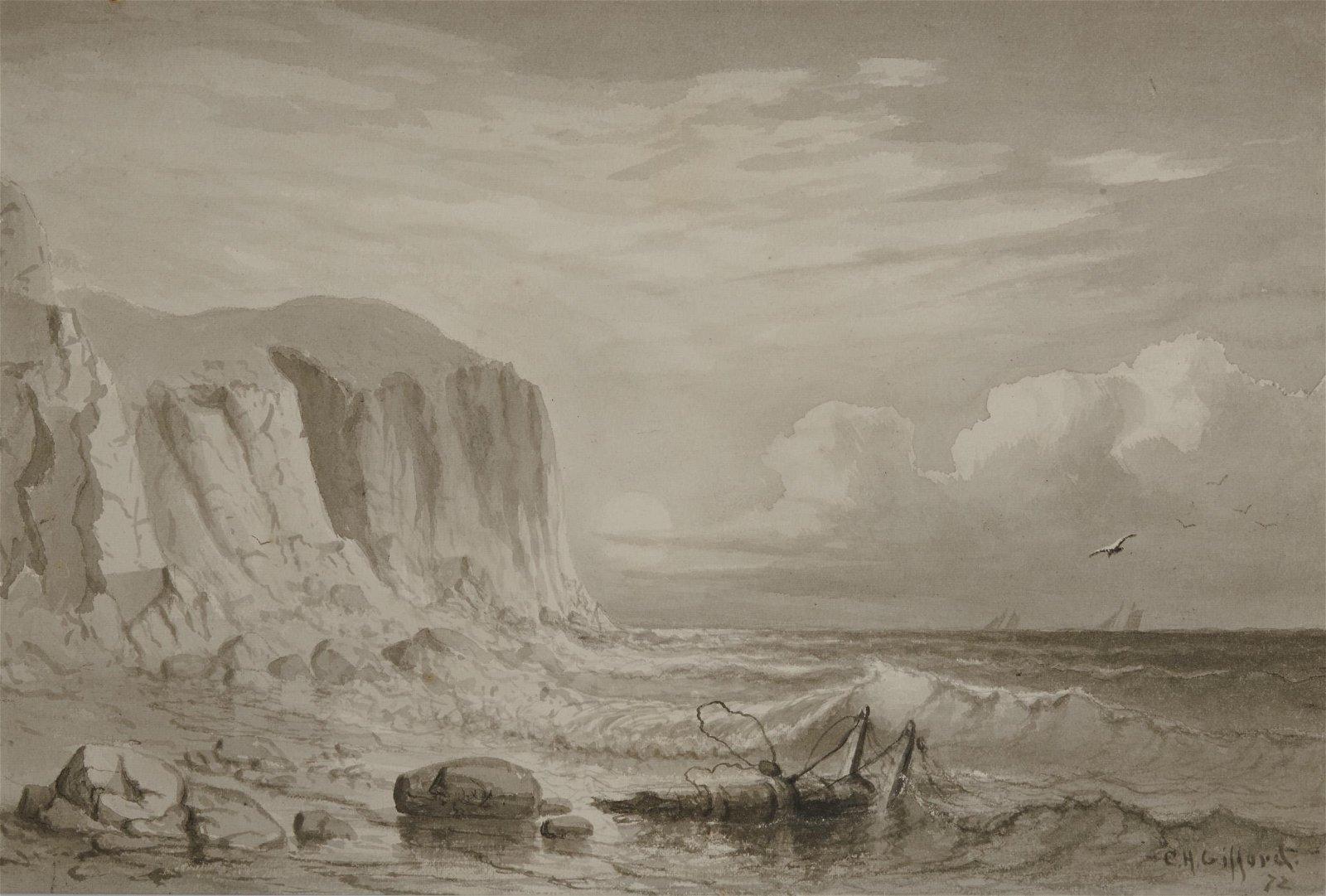 CHARLES HENRY GIFFORD, (American, 1839-1904), Rocky