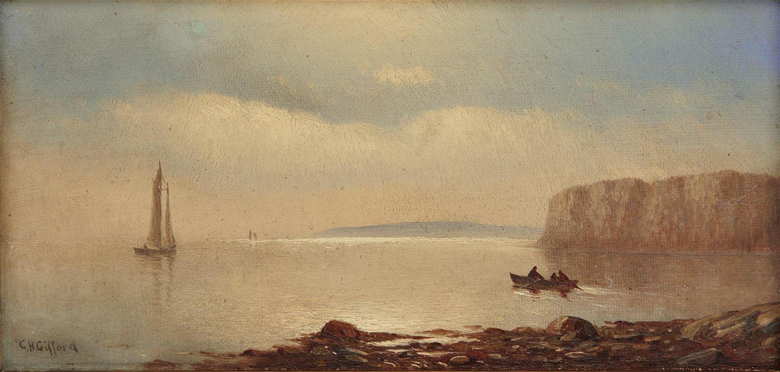 CHARLES HENRY GIFFORD, (American, 1839-1904), Coastal