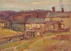 GEORGE GARDNER SYMONS, (American, 1863-1930), Autumn