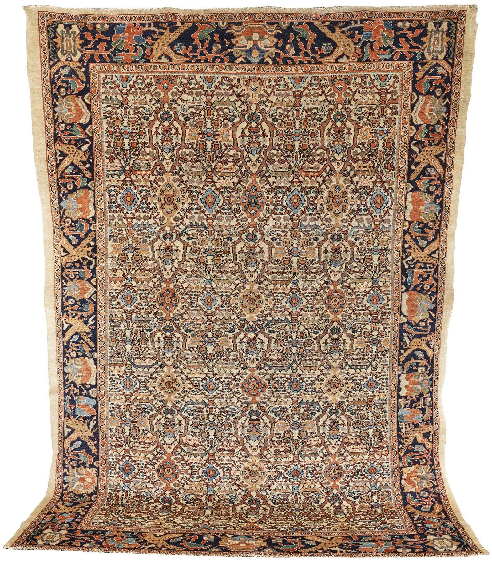 Malayer Ferraghan Carpet, Persia, ca. 1910; 10 ft. x 7