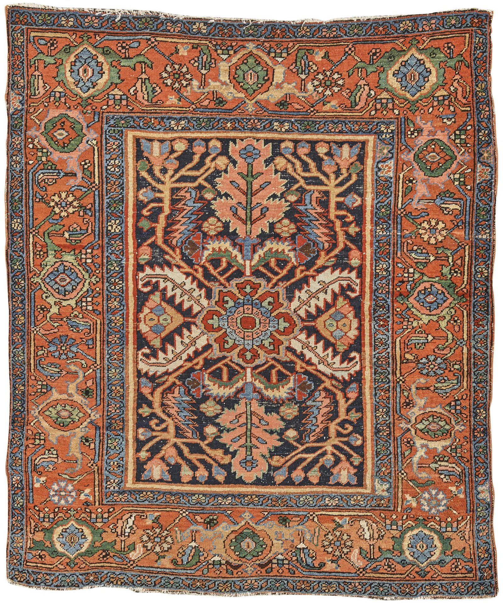 Heriz Rug, Persia, ca. 1910; 5 ft. 8 in. x 4 ft. 9 in.