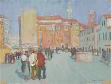 JANE PETERSON, (American, 1876-1965), Campo Santa