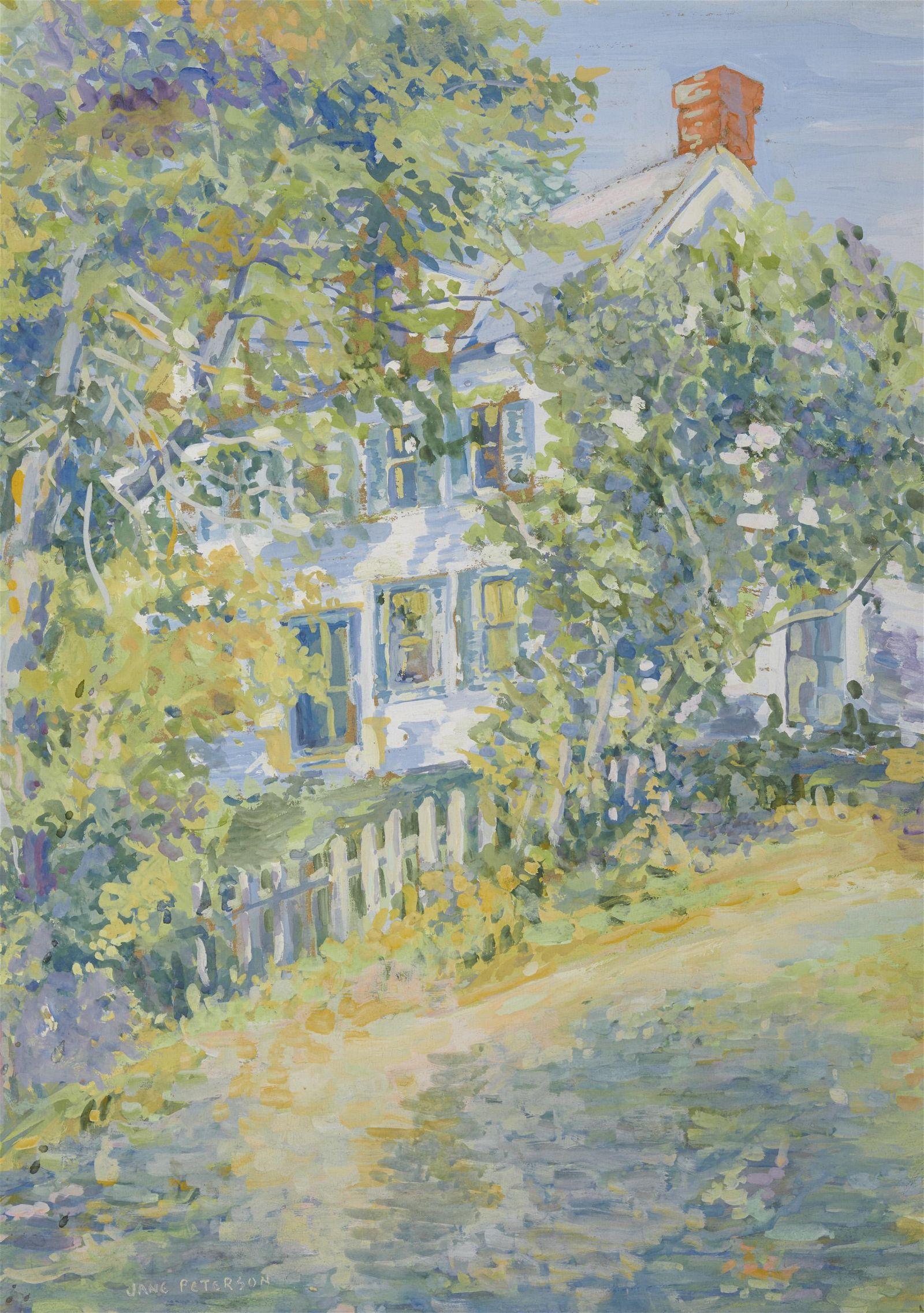 JANE PETERSON, (American, 1876-1965), White House,
