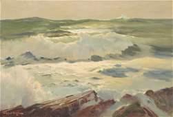 ROBERT WILLIAM WOOD, (American, 1889-1979), Rocks and