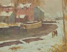 ALFRED RICHARD MITCHELL, (American, 1888-1972), Gray