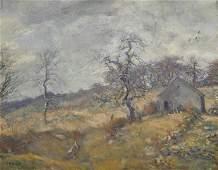 CHARLES HAROLD DAVIS, (American, 1856-1933), Landscape