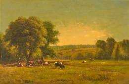 JAMES McDOUGAL HART American 18281901 Pasture