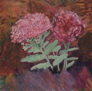 MARY SLATFORD NEWCOMB, British 1922-2008, Sedum and