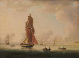 ENGLISH SCHOOL , late 18th/early 19th century, Ships