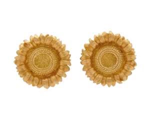 ROBERT BRUCE BIELKA 18K Gold Earrings
