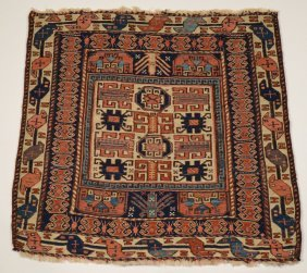 10: SOUMAC BAG FACE, Persia