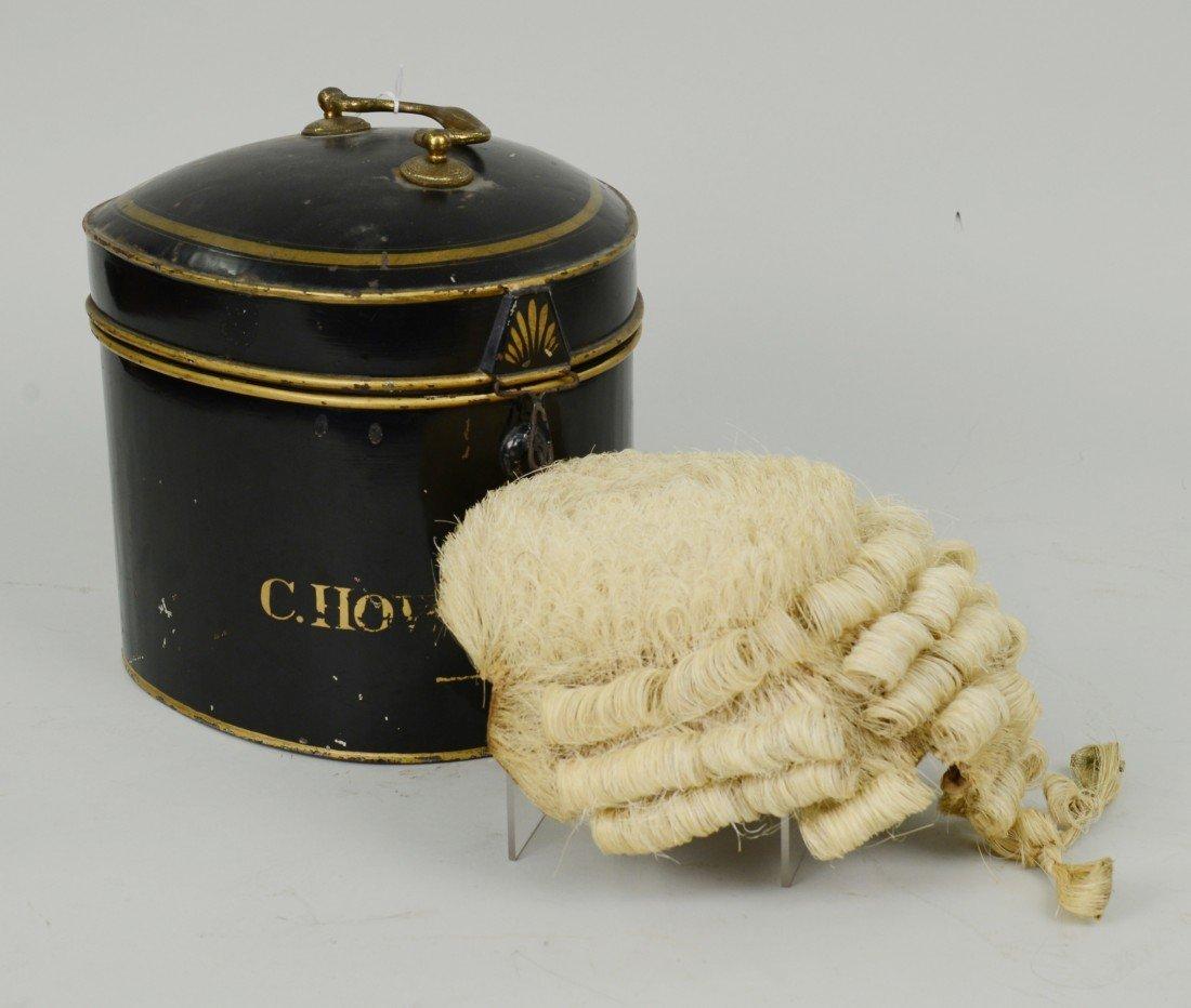 BARRISTER WIG, Ravenscroft Wig & Robe Makers, London; i