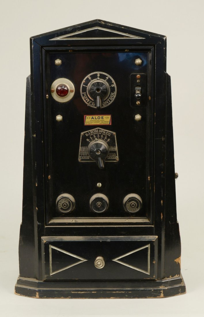 ELECTRO THERAPY MACHINE, E. J. Rose Manufacturing Co.,
