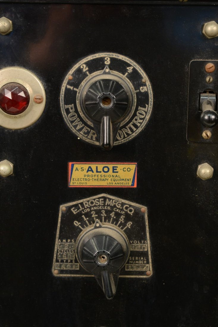 ELECTRO THERAPY MACHINE, E. J. Rose Manufacturing Co.,  - 2