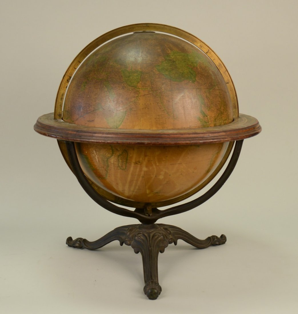 GILMAN JOSLIN IMPROVED GLOBE, Boston, Terrestrial Globe