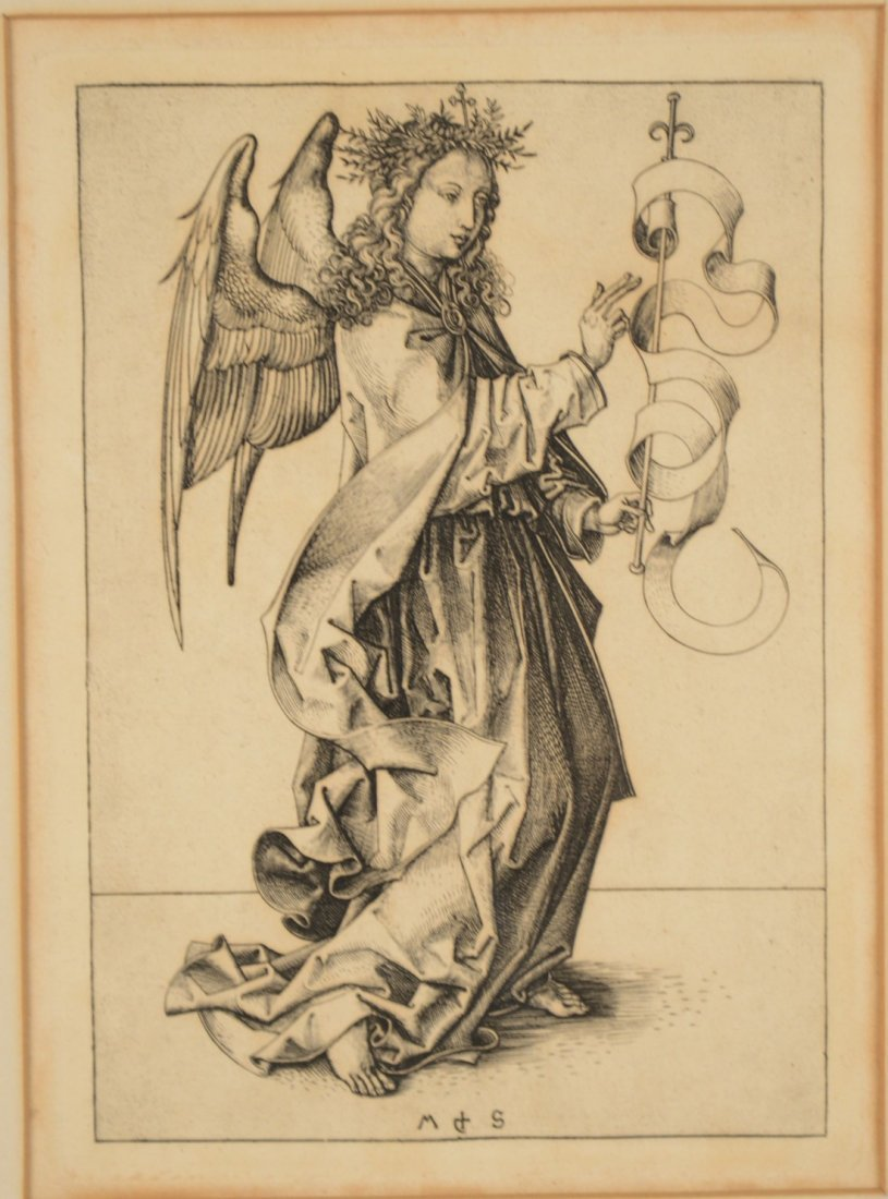 AFTER MARTIN SCHONGAUER, (1430-1491), THE ANGEL OF THE