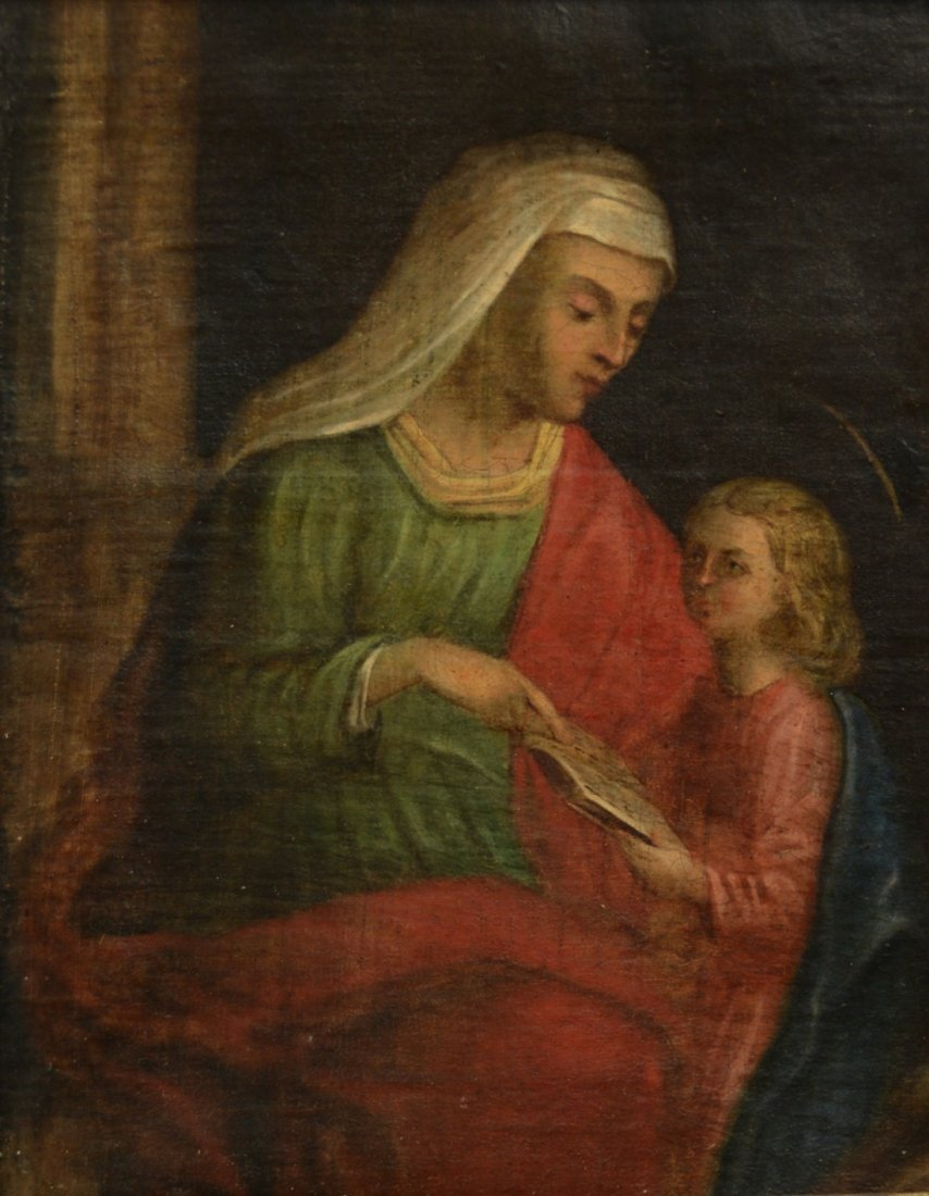 ITALIAN SCHOOL , (16th/17th century), MADONNA AND CHILD
