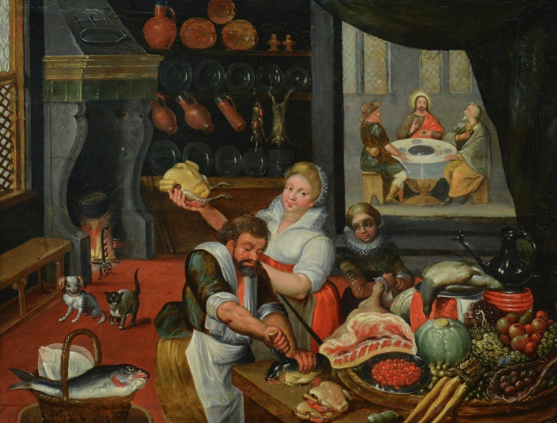 ATTRIBUTED TO PIETER AERTSEN, (Dutch, 1507-1575), KING'
