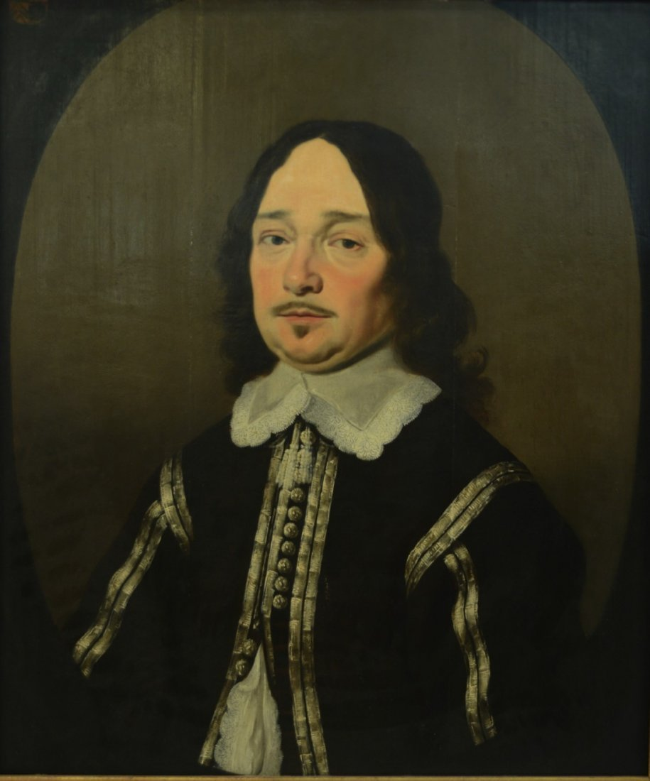 DUTCH SCHOOL , (17th century), PORTRAIT OF A GENTLEMAN