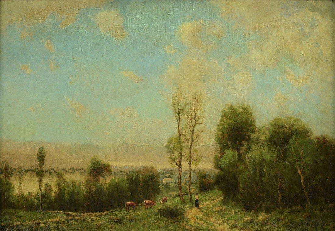 JULIAN ONDERDONK, (American, 1882-1922), LANDSCAPE WITH
