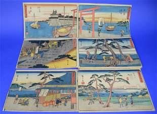 JAPANESE WOODBLOCK PRINT SERIES;