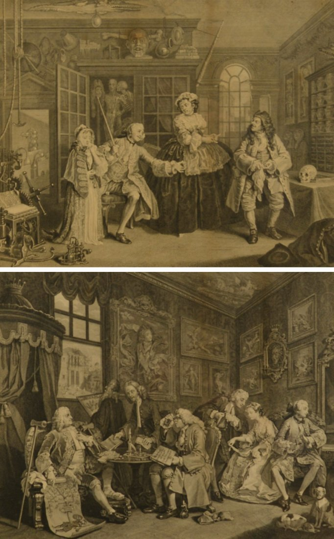 WILLIAM HOGARTH, (English, 1697-1764), MARRIAGE A LA