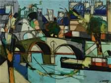 CLAUDE VENARD, (French, 1913-1999), PARIS, oil on