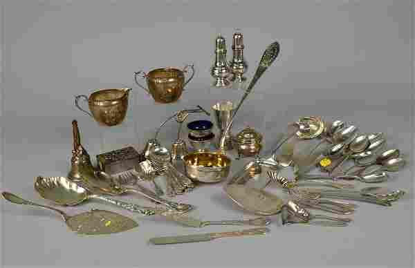COLLECTION OF AMERICAN SILVER;