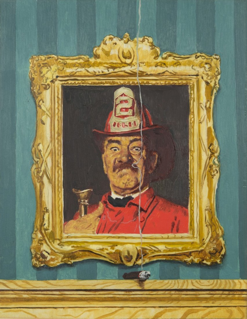 NORMAN ROCKWELL (American, 1894-1978) THE FIREMAN
