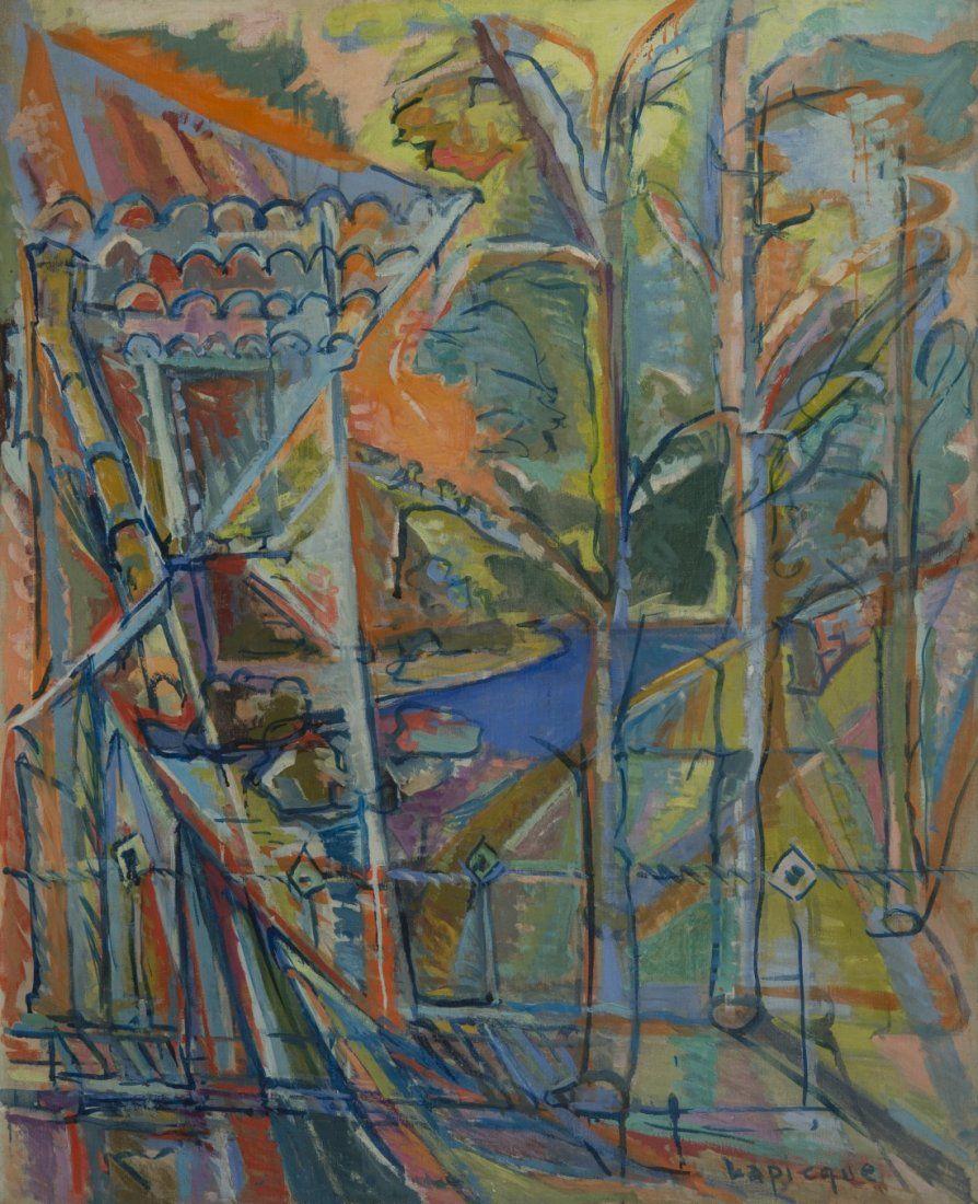 CHARLES LAPICQUE (French, 1891-1984) MOULIN SUR LA