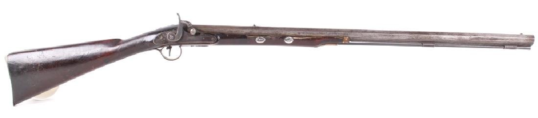 Early Plains Half Kentucky Percussion Rifle 1850's