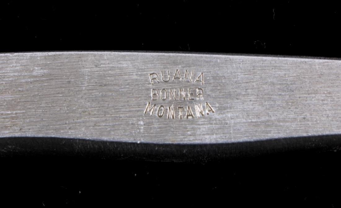 Ruana Custom Paring Knife Bonner Montana - 7