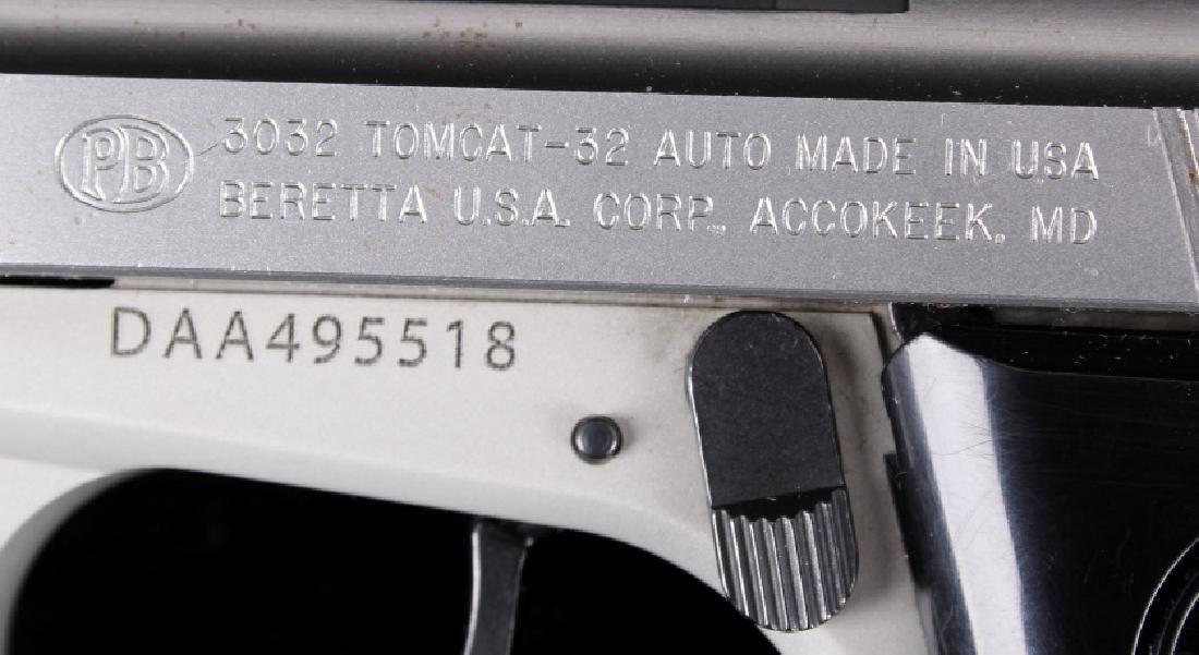 Beretta 3032 Tomcat Tip Up .32ACP Stainless Pistol - 11
